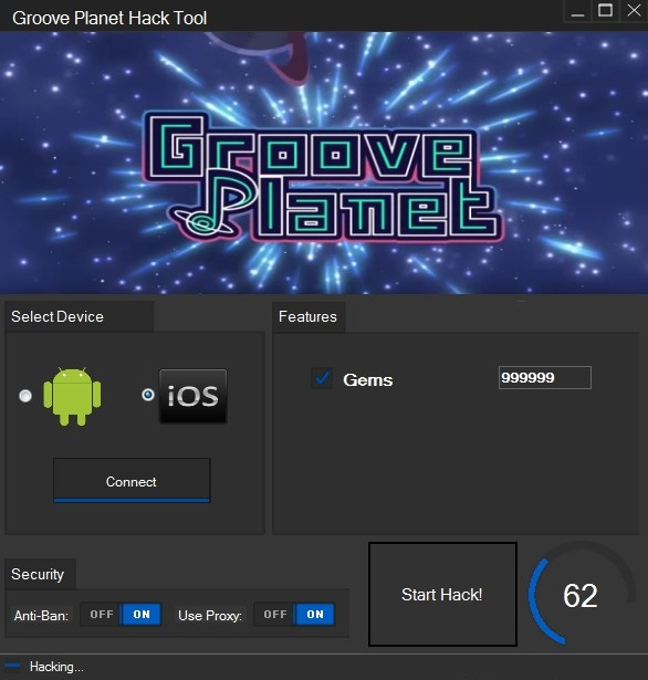 Groove Planet Hack