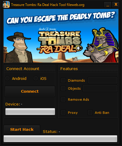 Treasure Tombs Ra Deal Hack Download (Android/iOS)