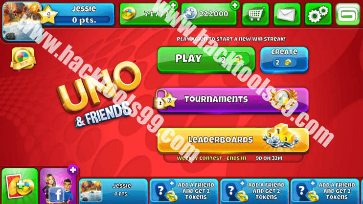 Uno and Friends Hack Working Proof