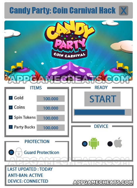 candy-party-coin-carnival-cheats-hack-gold-coins-spin-tokens-party-bucks