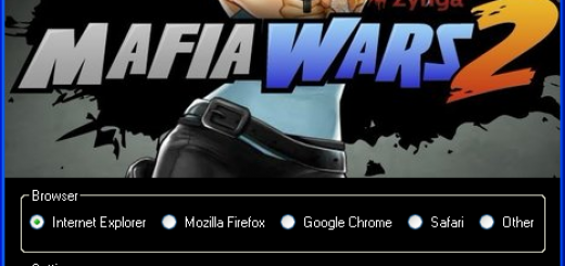Mafia Wars 2 Hack Today we introduce to you the 100% working Mafia Wars 2 Hack Tool which add unlimited Gold Bars or Cash to your facebook application in just one second. All you need to do is just to login and press activate hack. We guarantee you that you will be the best Mafia Wars 2 player after use this amazing tool