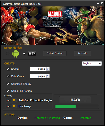 marvel puzzle quest hack tool Marvel Puzzle Quest Hack Tool & Cheats – Marvel Puzzle Quest Crystals, Gold Coins and Energy