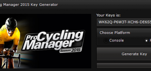 """Pro Cycling Manager 2015 CD-Key Generator When you'll open our generator you'll see 2 options """"Console"""" and """"PC"""" to ensure you that you get a good key, we suggest you to choose the platform, if you'll not select the platform, the generator will generate a random key."""