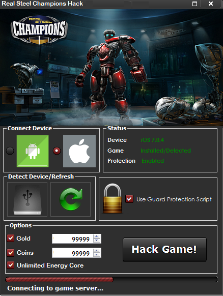 Real Steel Champions Hack Tool