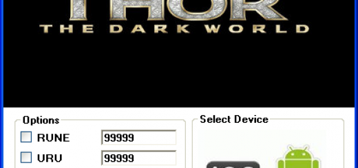 Thor: The Dark World Hack Tool Today we introduce to you the 100% working Thor: The Dark World Hack Tool which add unlimited RUNE,ISO-8 and URU to your devices application in just one second. All you need to do is just to login and press activate hack. We guarantee you that you will be the best Thor: The Dark World player after use this amazing tool.