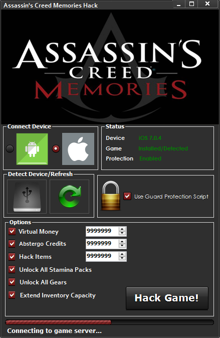 assassins creed memories hack iosandroid Assassins Creed Memories Hack (iOS/Android)