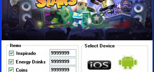 Band Stars Hack Tool Today we introduce to you the 100% working Band Stars Hack Tool which add unlimited Coins and Energy Drinks,Inspirado and Unlock All Band Memories to your devices application in just one second. All you need to do is just to login and press activate hack. We guarantee you that you will be the best Band Stars player after use this amazing tool.