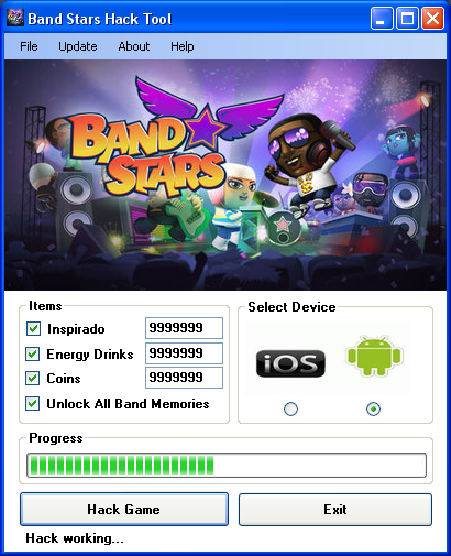 band stars hack tool download Band Stars Hack Tool Download