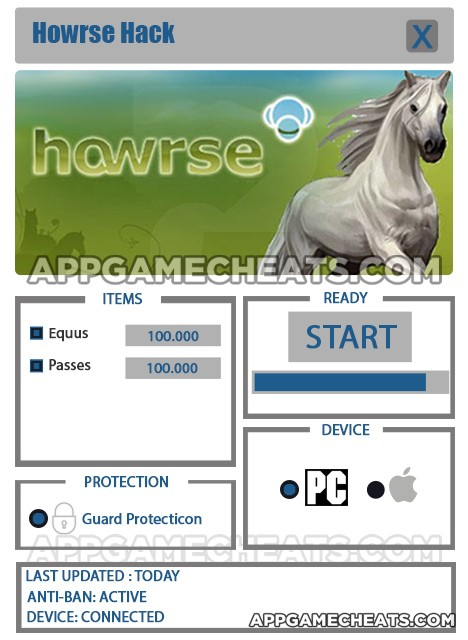 Howrse Hack for Equus & Passes