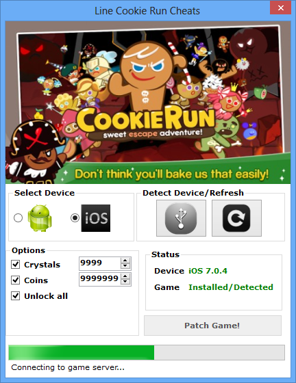 line cookie run hack tool download Line Cookie Run Hack Tool Download