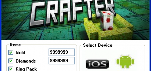 Monster Crafter Hack Tool Today we introduce to you the 100% working Monster Crafter Hack Tool which add unlimited Gold,Diamonds,King Pack and Tatoo Pack to your devices application in just one second. All you need to do is just to login and press activate hack. We guarantee you that you will be the best Monster Crafter player after usethis amazing tool.