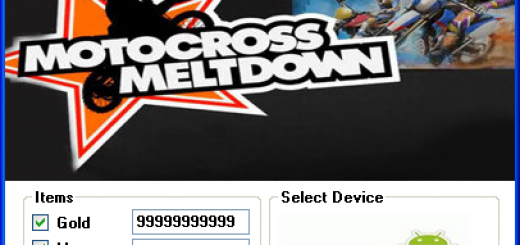 Motocross Meltdown Hack Tool Today we introduce to you the 100% working Motocross Meltdown Hack Tool which add unlimited Gold and Money to your devices application in just one second. All you need to do is just to login and press activate hack. We guarantee you that you will be the best Motocross Meltdown player after usethis amazing tool.