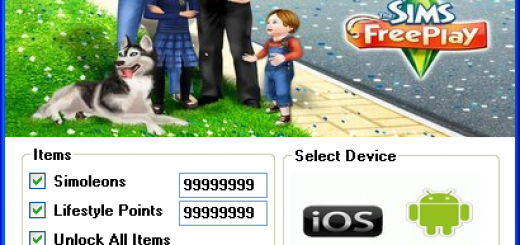 The Sims Free Play Hack Tool Today we introduce to you the 100% working The Sims Free Play Hack Tool which add unlimited Simoleons,Lifestyle Points and Unlock All Items to your devices application in just one second. All you need to do is just to login and press activate hack. We guarantee you that you will be the best The Sims Free Play player after usethis amazing tool.