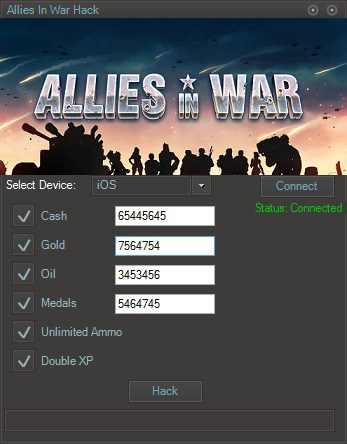 Allies In War Hack