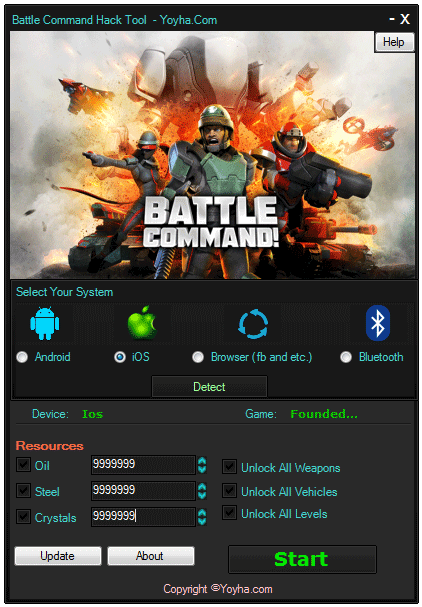 Battle Command Hack Tool and Cheats