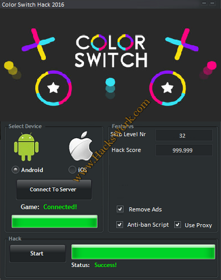 Color Switch Hack
