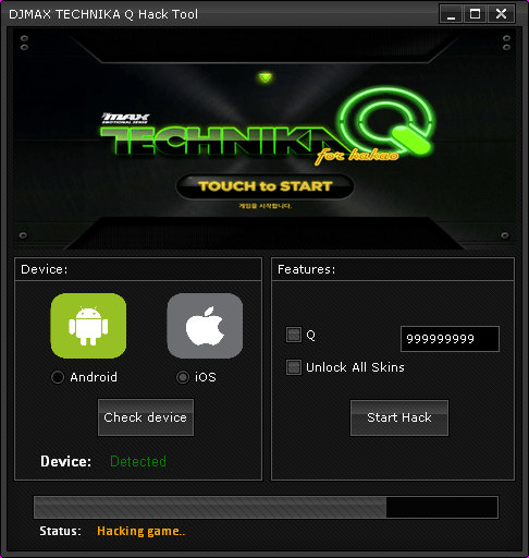 DJMax Technika Q Hack (Android/iOS)