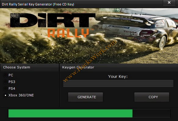DiRT Rally Serial Key Generator