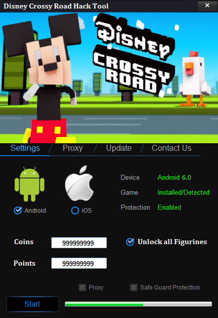 Disney Crossy Road Hack