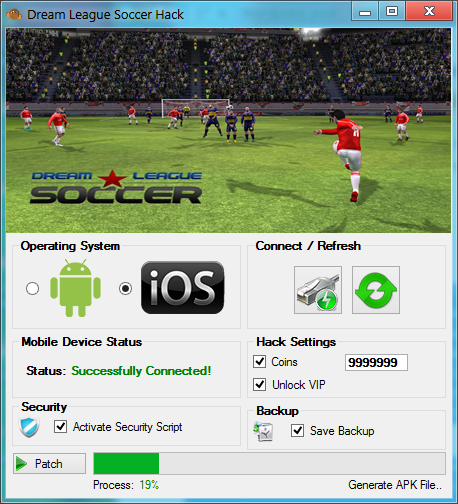 Dream League Soccer Hack (Android/iOS)