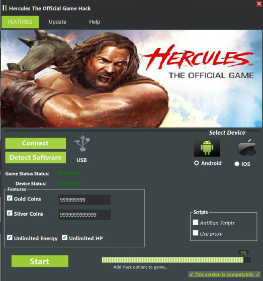 Hercules The Official Game Hack (Android/iOS)