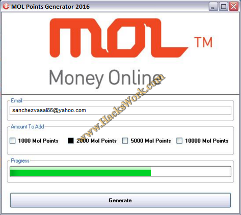 MOL Points Generator