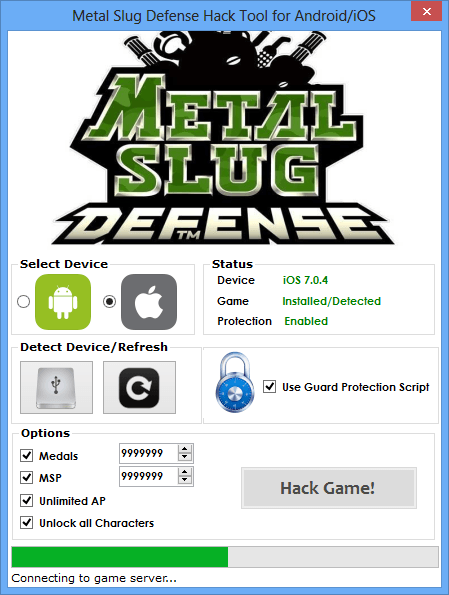 Metal Slug Defense Hack (Android/iOS)