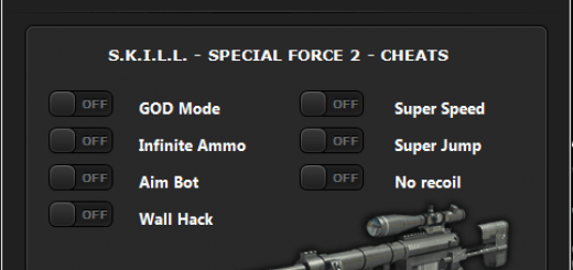 SKILL Special Force 2 Hack GOD Mode, Infinite Ammo,  Aim Bot We are glad to present you the most up to date trick of us named SKILL Special Force 2 Hack Cheats Tool for the well known game with the same name, SKILL Special Force 2. This device is extremely helpful in light of the fact that gives you some great elements like GOD Mode, Infinite Ammo, Aim Bot, Wall Hack, Super Speed, Super Jump and No Recoil. Every one of these alternatives we put in one trick tool, this tool we give you to free. You can utilize it too this cheat, you should simply the download it from beneath download catches.
