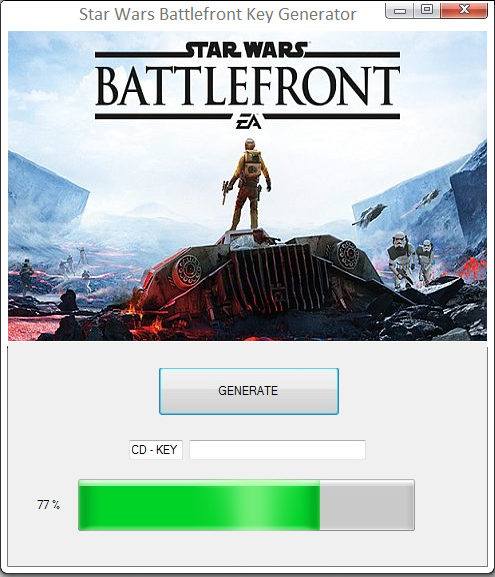 Star Wars Battlefront Key Generator