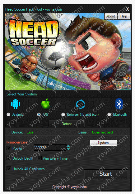 Head Soccer Hack and Cheats