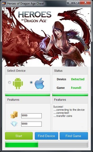 Heroes of Dragon Age Hack