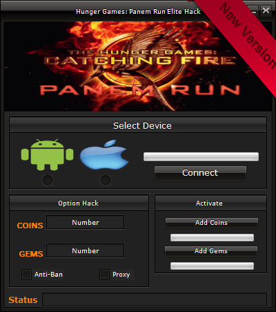 Hunger Games Panem Run Hack