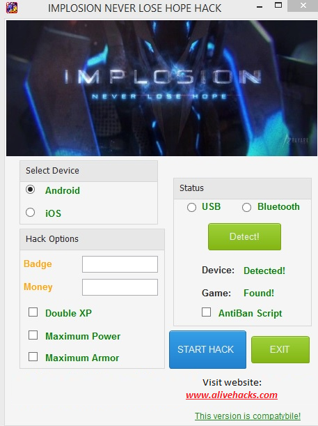 Implosion Never Lose Hope Hack