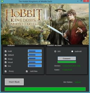 Hobbit Kingdoms of Middle Earth Hack – Unlimited Mithril Cheats