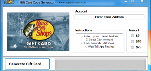 Bass Pro Shops Gift Card Generator We are offering Bass Pro Shops Gift Card Generator. In this post we are going to reviewyou how to get the gift cardfor free, without paying anything. Why using your credit card and spending a lot of money if you don't need to do that? :) Here isthis awesome tool, easy to use. Here is the best tool available on internet regarding this kind of store, Bass Pro ShopsGift Card Generator.