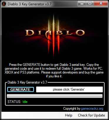 Diablo 3 Key Generator – CD Keygen