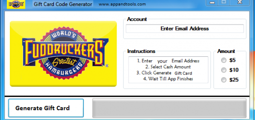 Fuddruckers Gift Card Generator We are offering Fuddruckers Gift Card Generator. In this post we are going to review you how to get the gift card for free, without paying anything. Why using your credit card and spending a lot of money if you don't need to do that? :) Here is this awesome tool, easy to use. Here is the best tool available on internet regarding this kind of store, Fuddruckers Gift Card Generator.
