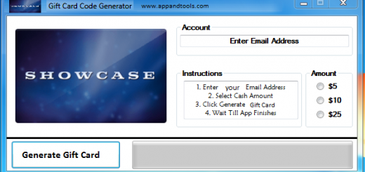 Showcase Cinemas Gift Card Generator We are offering Showcase Cinemas Gift Card Generator. In this post we are going to review you how to get the gift card for free, without paying anything. Why using your credit card and spending a lot of money if you don't need to do that? :) Here is this awesome tool, easy to use. Here is the best tool available on internet regarding this kind of store, Showcase Cinemas Gift Card Generator.