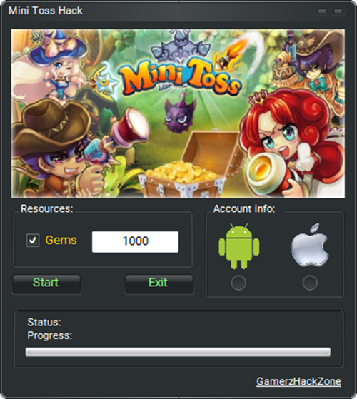 Mini Toss Hack (Android/iOS)