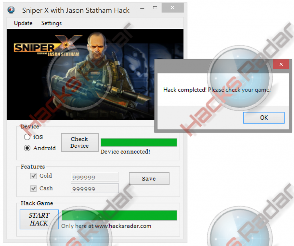 Sniper X with Jason Statham Hack Cheats