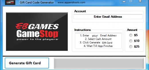EB Games Gift Card Generator We are offering EB Games Gift Card Generator. In this post we are going to review you how to get the gift card for free, without paying anything. Why using your credit card and spending a lot of money if you don't need to do that? :) Here is this awesome tool, easy to use. Here is the best tool available on internet regarding this kind of store, EB Games Gift Card Generator.