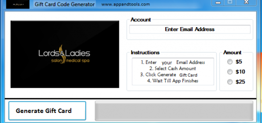 Lords & Ladies Salons Gift Card Generator We are offering Lords & Ladies Salons Gift Card Generator. In this post we are going to review you how to get the gift card for free, without paying anything. Why using your credit card and spending a lot of money if you don't need to do that? :) Here is this awesome tool, easy to use. Here is the best tool available on internet regarding this kind of store, Lords & Ladies Salons Gift Card Generator.