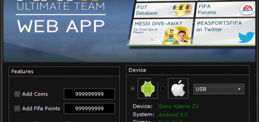 FIFA 17 Ultimate Team Hack Unlimited Coins