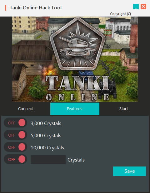 Tanki Online Hack Unlimited Crystals Tanki Online is the main blaze based online 3D activity game. It has gotten various prestigious honors, including Site of the Day at Favorite Website Awards, Best Game without a distributer and Best innovation at KRI 2009, Best innovation at Russian Flash Awards 2009 and Best round of Russian Internet at the Runet Prize in 2015 and 2017. A huge number of players everywhere throughout the world have officially joined Tanki Online. To do likewise, simply go to tankionline.com and begin playing!  On the pages of this wiki-reference book you will discover a ton of valuable data about the game, find bunches of intriguing realities and get exhortation from experienced players. The substance of the reference book are continually upgraded and enhanced by our accomplished editors. The Wiki-reference book is made for data purposes and assessing current game occasions as it were. It is not utilized for business purposes or promoting.