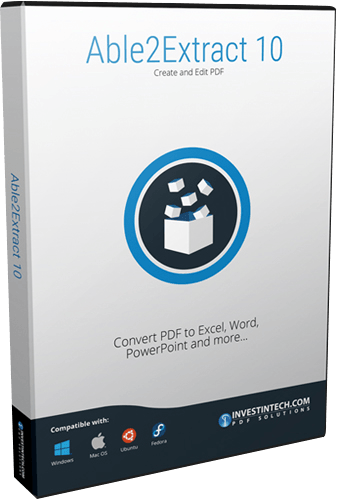 Able2Extract PDF Converter 10 Crack