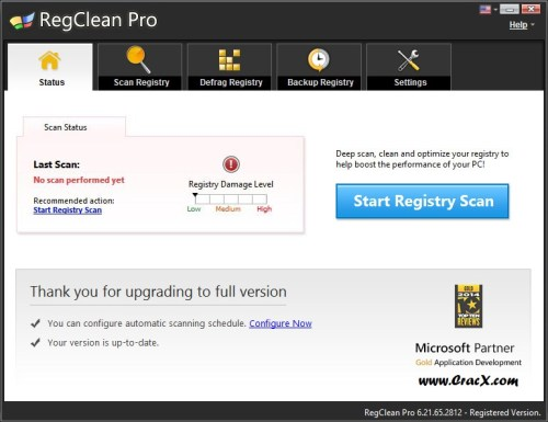 RegClean Pro Key 2015 Crack + Keygen Full Free Download