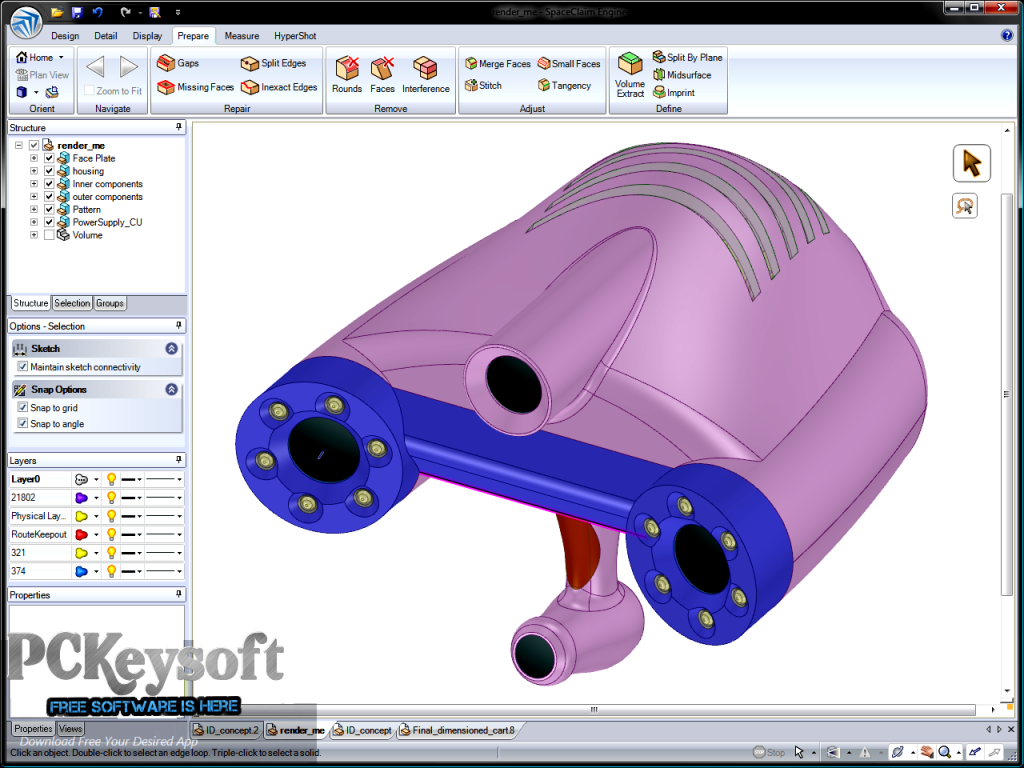 ANSYS SpaceClaim Direct Modeler 2015 Download Latest Version