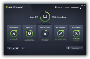 AVG PC TuneUp Crack 2017 With Key Download Full Version
