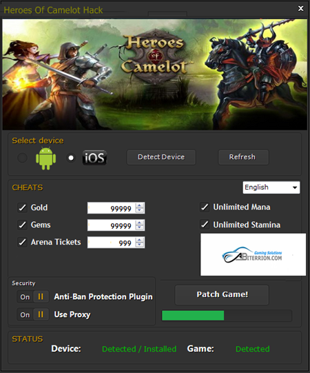 Heroes of Camelot Hack Cheats Tool