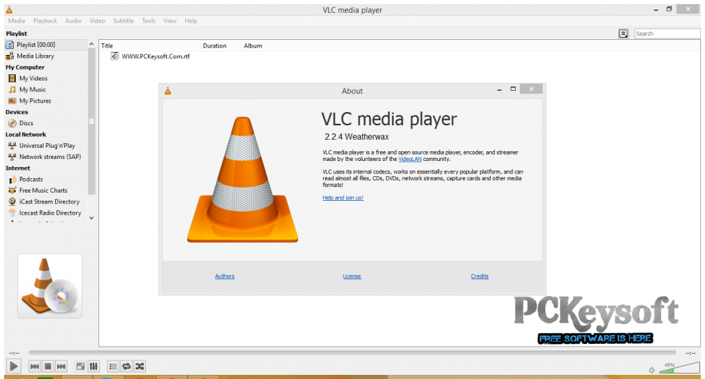 VLC Media Player 2.2.4 For PC Free Download Latest Version 2016 Update